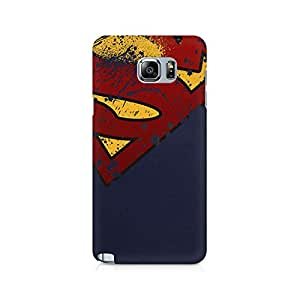 Ebby Superman Premium Printed Case For Samsung Note 5
