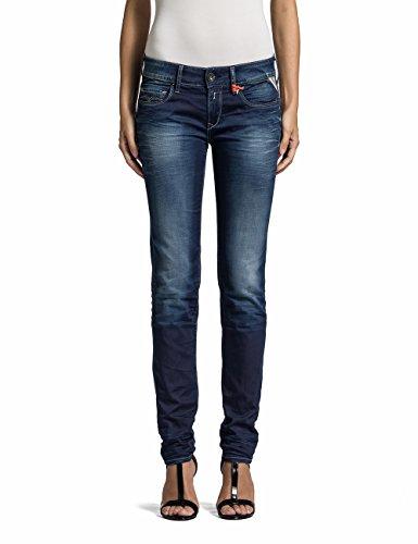 Replay Damen Slim Jeanshose Rose, Gr. W28/L30 (Herstellergröße: 28), Blau (Denim Blue 9) thumbnail