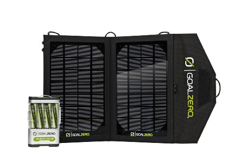 Goal Zero 19010 Guide 10 Plus Solar Charging Kit