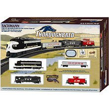 Imagen de Bachmann Trains Thoroughbred Ready-to-Run Juego de tren HO Escala