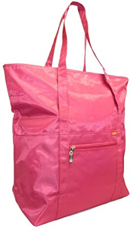 Baggallini Expandable Tote Bag,One Size,Pink