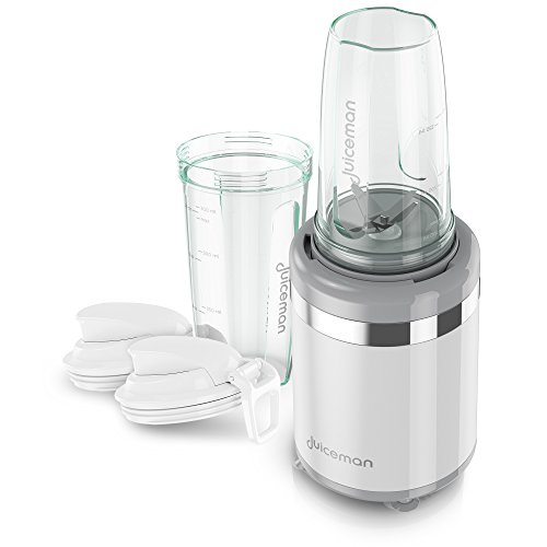 Juiceman JMB1000 Express Whole Juicer with 24 Ounce BPA-Free Portable Personal Blending Jars (2-Pack with Travel Lids) (Juicer Express compare prices)