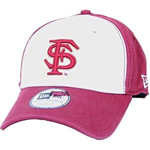 Florida State Seminoles New Era Hat - White Front Foundation Cap by SportShack INC