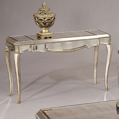 Cheap Collette Console Table in Antique Gold (T1267-400)