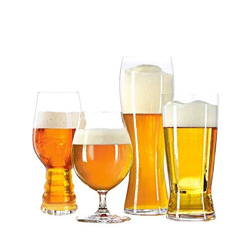 Imperial - Bicchieri da degustazione per birra, confezione da 4 pezzi