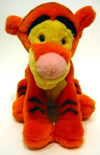 "Disney TIGGER PLUSH 8"" Bean Bag Sitting Position"