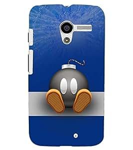 PRINTSHOPPII FUNNY BOMB Back Case Cover for Motorola Moto X XT1058::Motorola Moto X (1st Gen)
