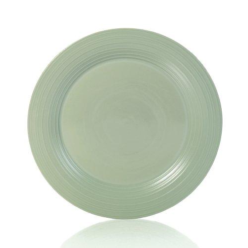 Mikasa Swirl Sage 14-Inch Round Platter