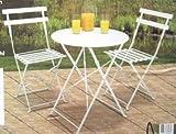 Sitzgruppe-Gartentisch-mit-2x-Klappsthlen-Balkon-Klapptisch-Stuhl-Tisch