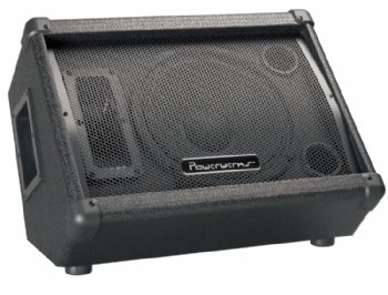 Powerwerks PW10ML 60-Watt 1 x 10 Inches and Horn Monitor PA Enclosure