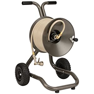 Rapid Reel Two Wheel Garden Hose Reel Cart Model #1043-GH (NEW 2009)