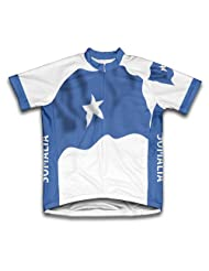 Somalia Flag Short Sleeve Cycling Jersey for Women