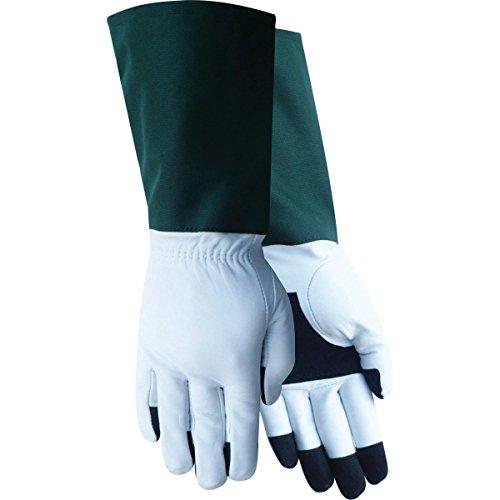 Red Steer Gloves : Red steer ladies premium goatskin rose tender gloves