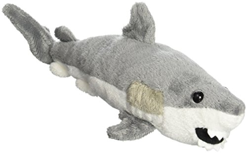 "Purr-Fection Tiger Junior Shark 8"" Plush"