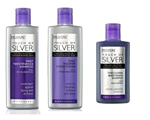Touch Of Silver Shampoo, Conditioner & Weekly Treatment