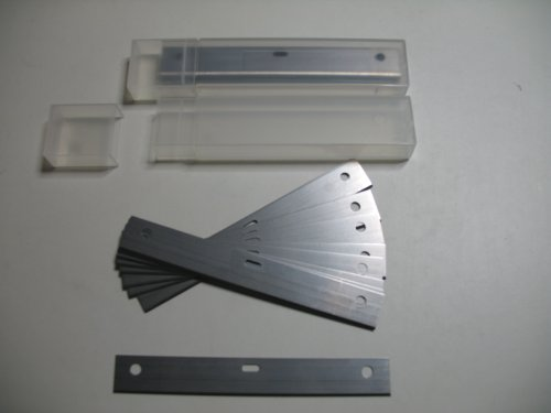 20 X 100MM HEAVY DUTY REPLACEMENT WALL / FLOOR SCRAPER BLADES (10 CM, 4 INCH) MADE IN SHEFFIELD ENGLAND ROYAL BLADES