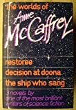 The Worlds of Anne McCaffrey - Restoree, Decision at Doona, and The Ship Who Sang (0233974148) by McCaffrey, Anne