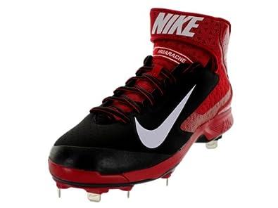 Nike Mens Huarache Pro Mid Metal Baseball Cleat by Nike