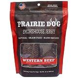 PRAIRIE DOG PET PRODUCTS Western Beef Smokehouse Jerky Treats, 15 oz