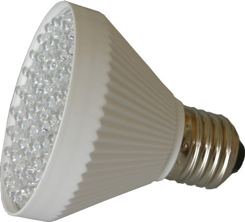 Led E26 Spotlight Replacement Bulb 4W (320 Lumen) White 4000K Plastic Base 60 Degree Beam Angle