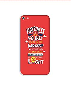 Apple Iphone 6s ht003 (120) Mobile Case from Mott2 - Happiness Motivation Quote (Limited Time Offers,Please Check the Details Below)