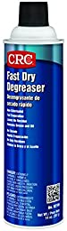 CRC Fast Dry Liquid Degreaser, (Net weight: 14 oz.) 15 oz Aerosol Can, Clear