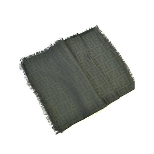 (フェンディ) FENDI ストール FXT085 G5N F0QG2 68x180 ブラック 並行輸入品