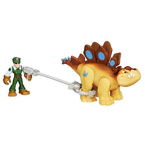 Playskool Heroes Jurassic World Tracker Stegosaurus Figure by Playskool