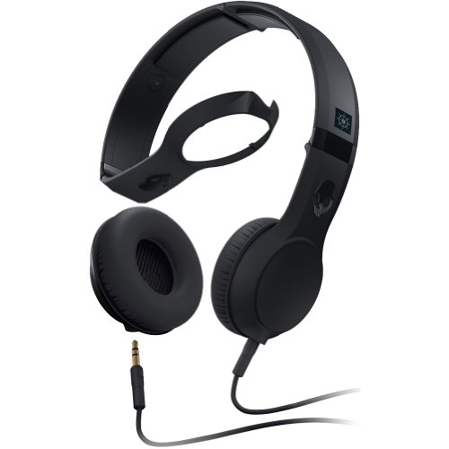 Skullcandy Cassette With Mic Premium Wired Headphone - Black / One Size