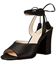 Nine West Women's Bellermo Leather Dress Sandal
