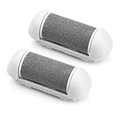 HealthSense Velvet Touch Callus Remover Replacable Roller (Pack of 2)