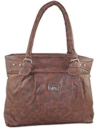 Ladies Handbag Slings Women's Shoulder Handbag Brown LHS_HB_L155-10
