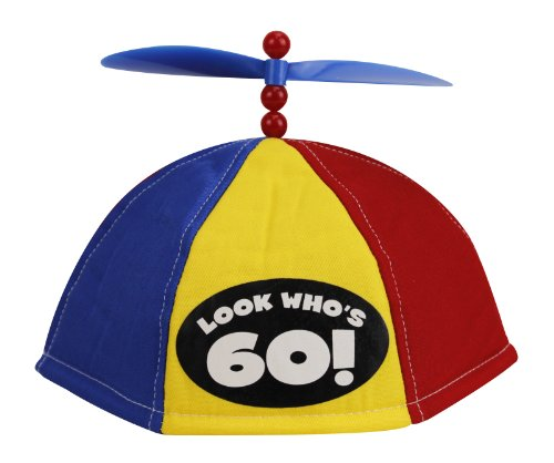 BigMouth Inc Look Who's 60 - Propeller Beanie - 1