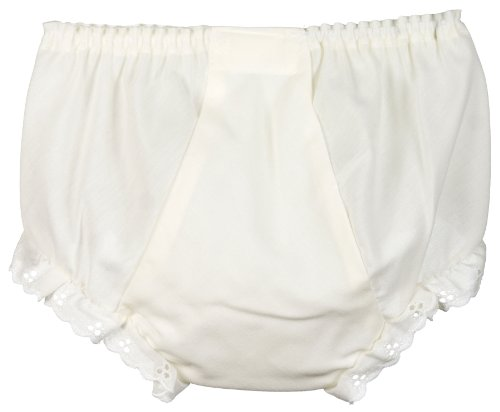 I.C. Collections Baby Girls Ecru Double Seat Panty, Size 01 front-1038200
