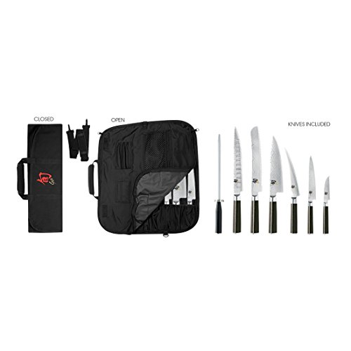 Shun DMS0899 8-Piece Classic Student Knife Set
