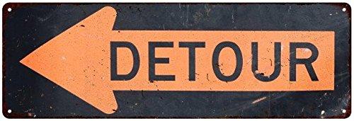 detour-arrow-left-vintage-look-reproduction-metal-sign-6x18-6180484