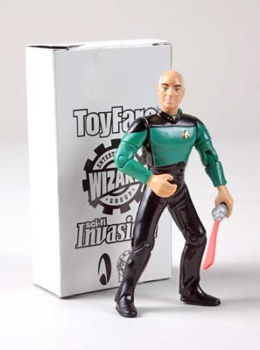 Buy Low Price Wizard Entertainment ToyFare Exclusive Star Trek 'Tapestry' Picard Action Figure (B000Q7CLPO)