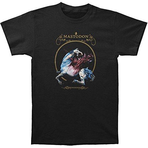 Michaner Walosde Mastodon Men's Remission Black T-shirt Black X-Large