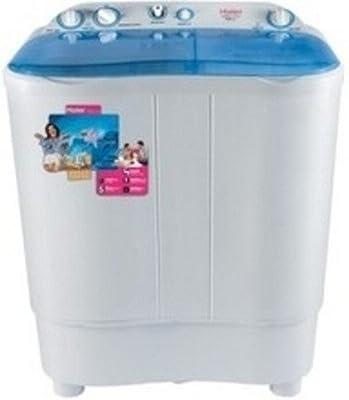 Haier XPB65-116S Semi-automatic Top-loading Washing Machine (6.5 Kg, Blue)