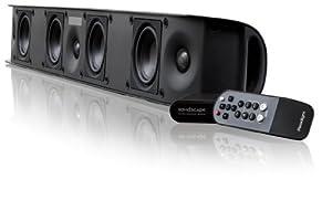 Paradigm SHIFT Series Soundscape Full Powered Soundbar with apt-X Bluetooth (Black) by Paradigm