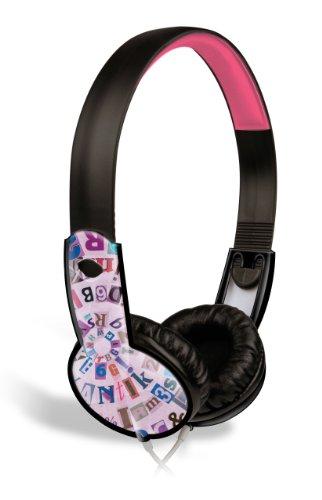 Maxell Safe Soundz Overear Headphones - Purple (190296)