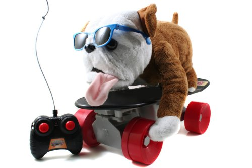 Jada Toys R C Buddy The Dog On Skateboard