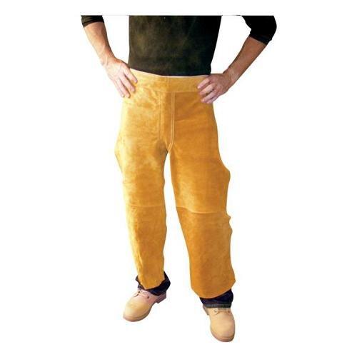 "X 38"" Split Leg Leather Waist Apron"