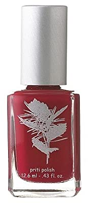 Priti Nail Polish in Red Head Cactus - Non-Toxic, Chemical-Free
