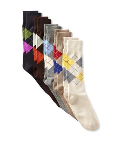 Florsheim Socks Men's 5 Pack-Argyles