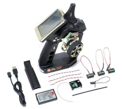 115be8623ac Fly Sky #FS/FS-iT4TIT Flysky FS GT4 2.4Ghz 4CH RC Radio System With ...