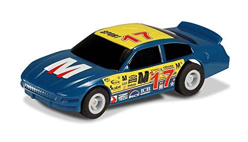 Micro Scalextric - Modellino automobilina statunitense No 17, colore: Blu