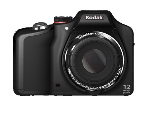 Kodak EasyShare Max Z990 Digital Still Camera - Black (12MP BSI CMOS, 30x Optical Zoom) 3.0 inch HVGA LCD