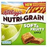 Kellogg's Nutri Grain Soft & Fruity Apple 6 X 37G