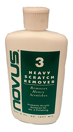 Novus Plastic Polish 3 - Heavy Scratch Remover - 237 ml (8 once)